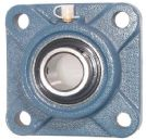 UCF203 17mm BORE FOUR BOLT SQUARE BEARING UNIT